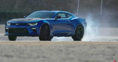 2017 Camaro SS 1LE Hot Laps