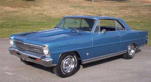 1966 Chevy II Nova SS 327 Small Block V8