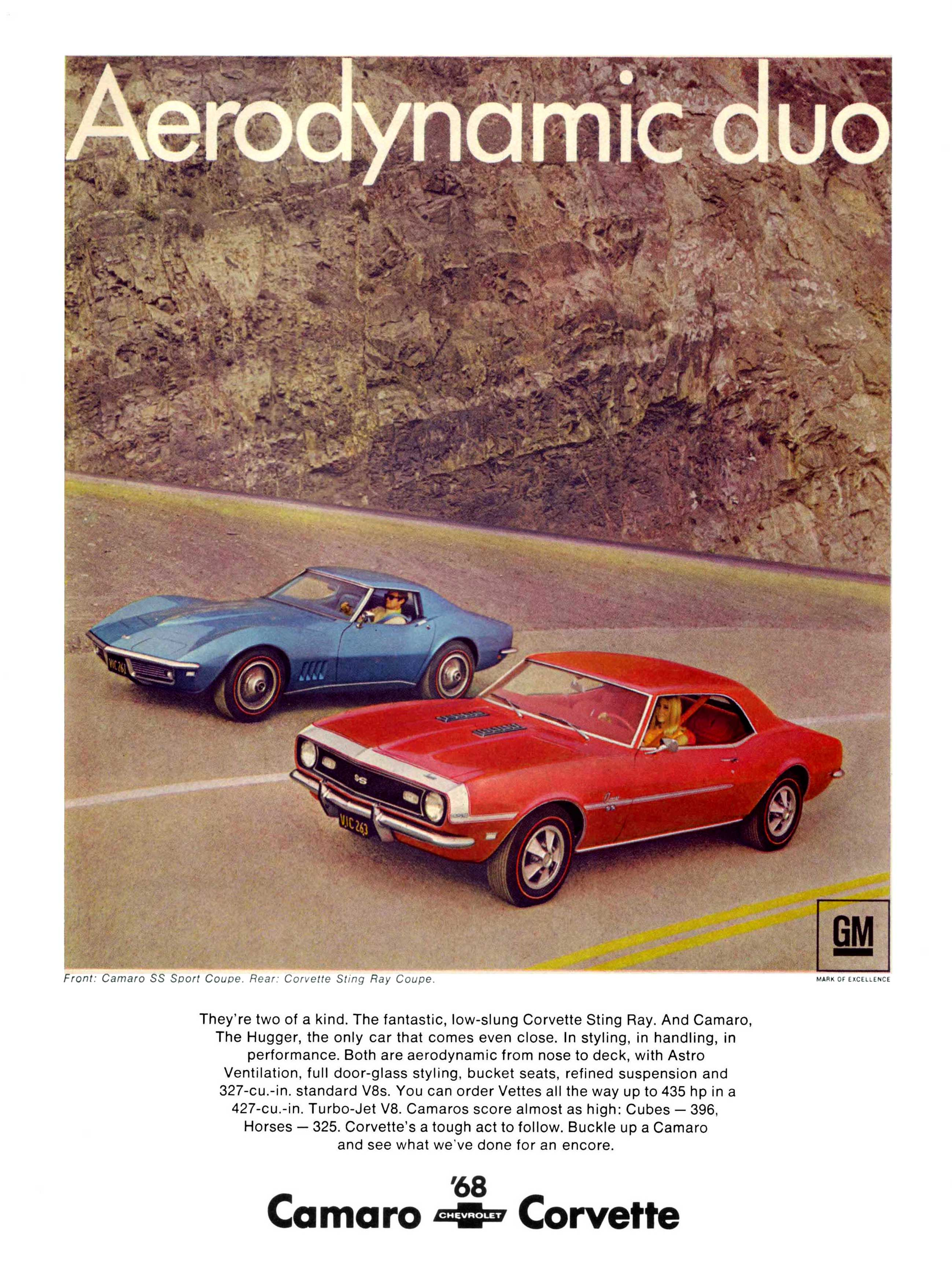 Coolest Chevrolet Camaro Ads of the 1960s! | Chevys Only