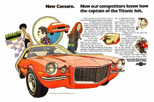 1970 Camaro Intro Ad