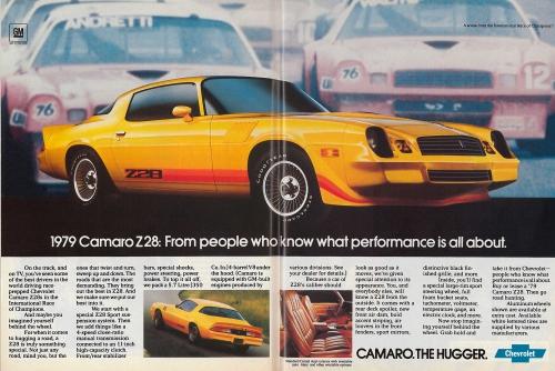 1979 Camaro Z/28 IROC Ad
