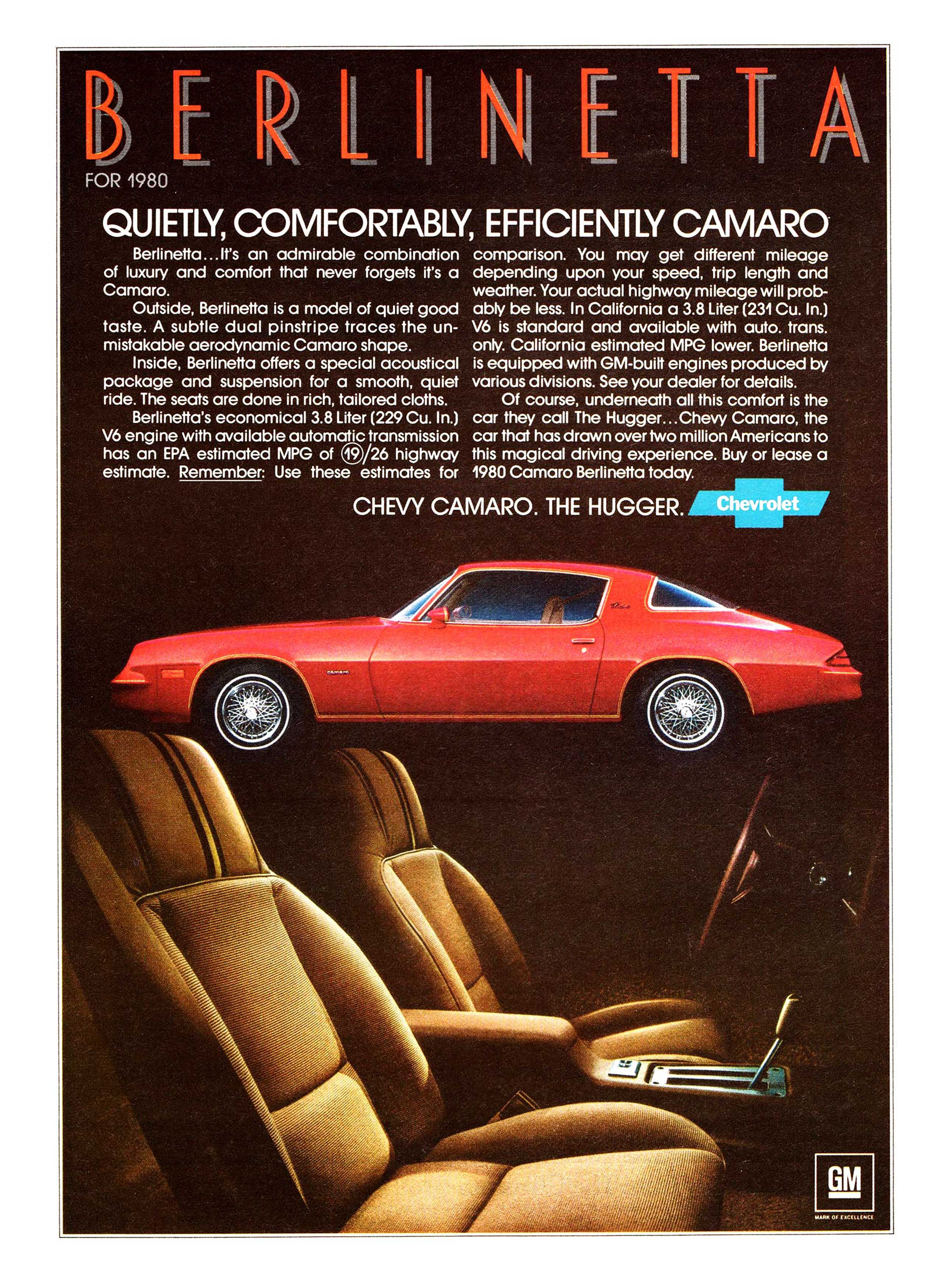 Car And Driver 10 Best >> Coolest Chevrolet Camaro Ads of the 1970s! | Chevys Only