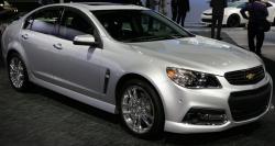 2015 Chevrolet SS Sedan Top Speed 163 mph