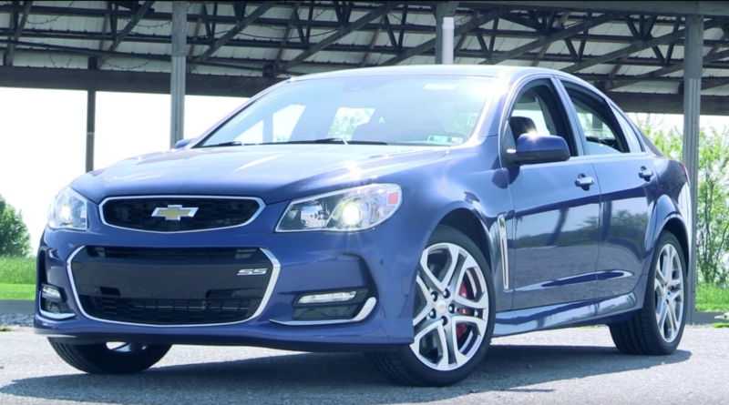 2016 Chevy SS Sedan Review