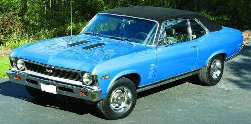 1969 Chevy Nova SS 350