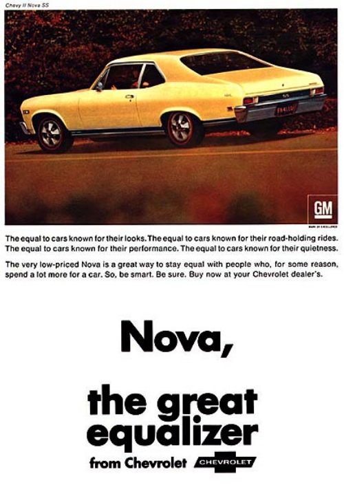 Coolest Chevy II/Nova Ads of the 1960s!   Chevys Only