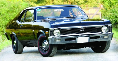 1970 Chevy Nova SS 396 aka Turbo Jet 400