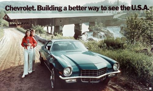 1972 Chevy Camaro Couples Ad