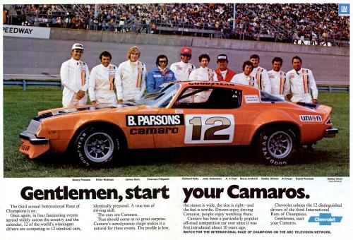 1976 Camaro IROC Ad