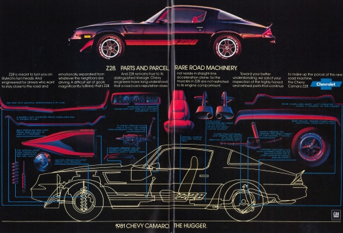 1981 Camaro Z/28 Ad