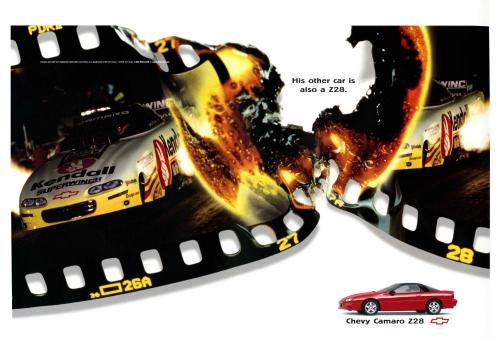 1998 Camaro Z/28 Racecar Ad