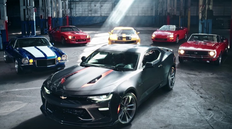 Six Generations of Camaro