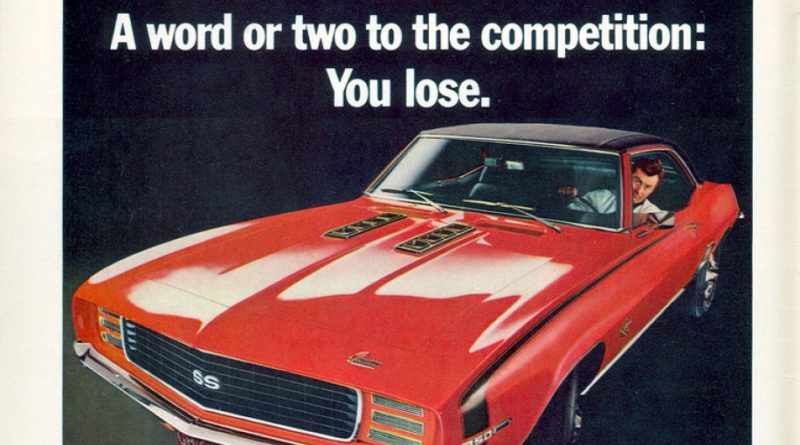 Awesome Camaro Ads of the 1960s