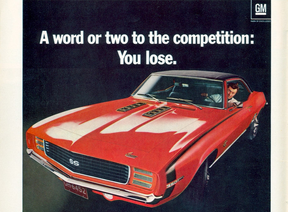 Coolest Chevrolet Camaro Ads Of The 1960s Chevys Only