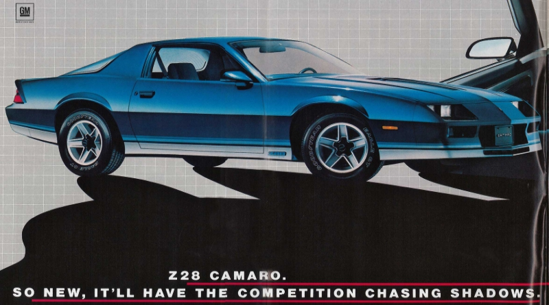 3Rd Gen Camaro >> Coolest 3rd Gen Chevy Camaro Ads Of The 1980s Chevys Only