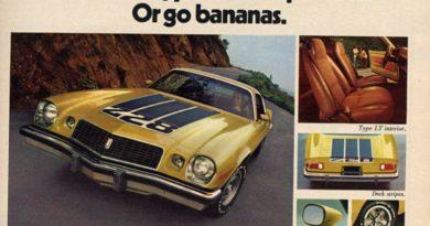Coolest Camaro 1970s Camaro Ads