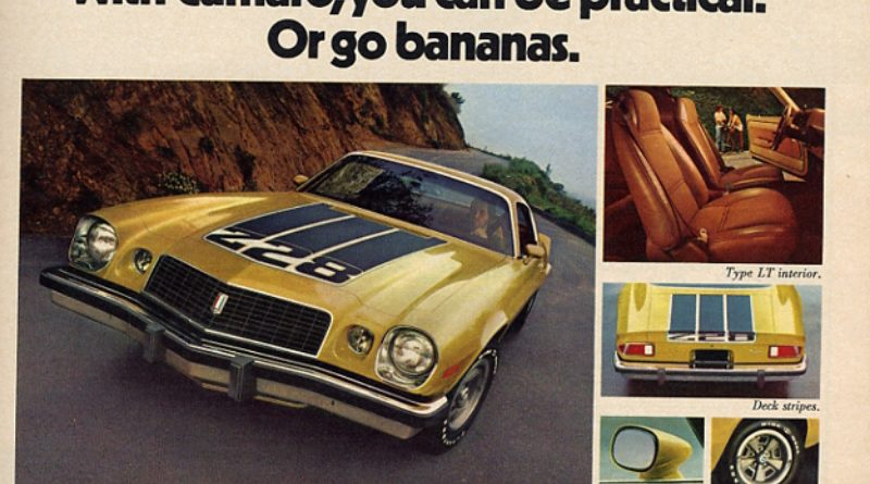 Coolest Chevrolet Camaro Ads Of The 1970s Chevys Only