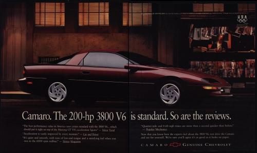 1995 3800 V6 Camaro Intro Ad