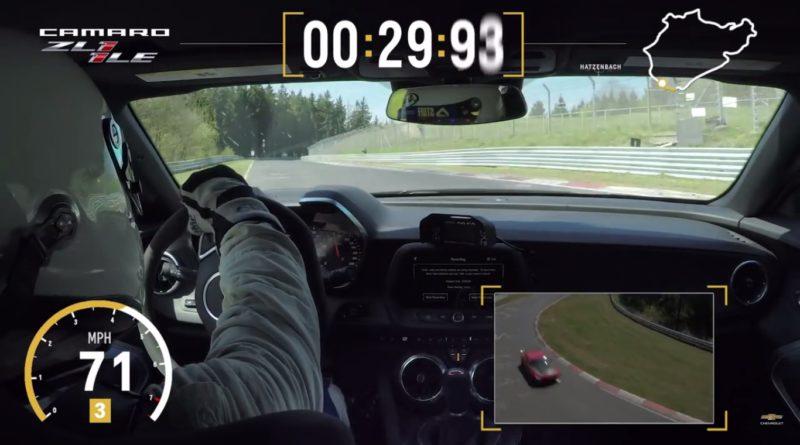 2018 Camaro ZL1 Nürburgring