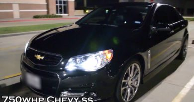 750 rwhp Chevy SS Sedan
