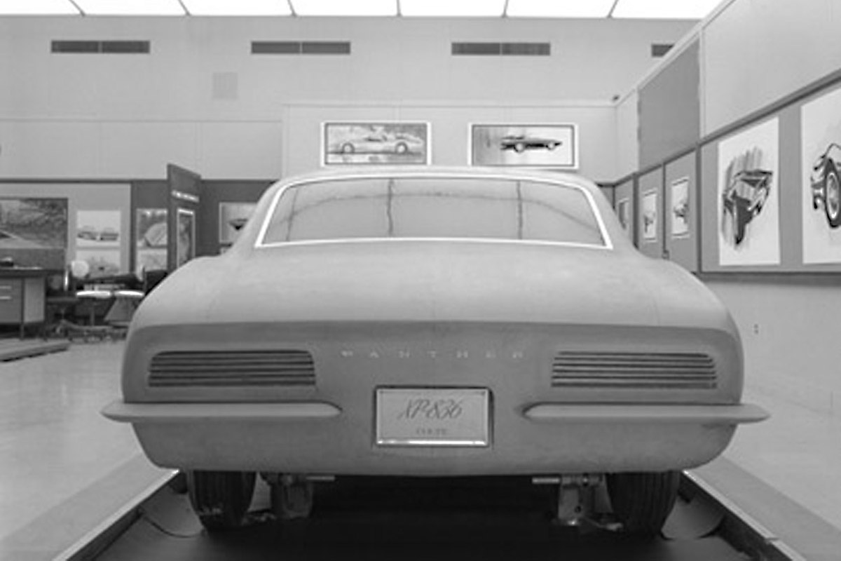1965 Chevrolet Panther Concept What Happen Chevys Only